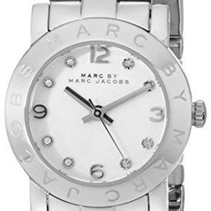 Marc by Marc Jacobs Women's MBM3055 Amy Stainless